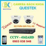 Camera quan sát bộ 2 mắt, CCTV Questek – 4162AHD