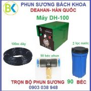 Bộ máy phun sương 90 béc đế nhựa, DH-100