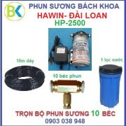 hệ thống phun sương 10 béc đế đồng HP-2500