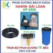 Hệ thống phun sương 15 béc đế nhựa HP-2500