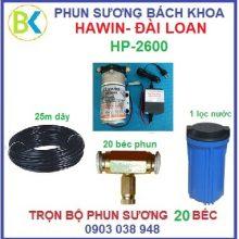 Hệ thống phun sương 20 béc, HP-2600