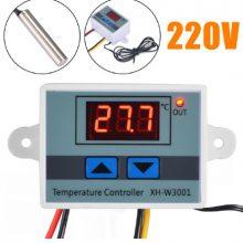 Công tắc cảm biến nhiệt độ XH-W3001, 220v