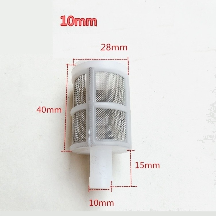 Cục lọc nước đuôi 10 ly cho máy bơm mini