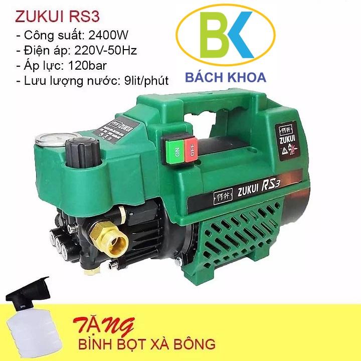 Máy rửa xe ZUKUI RS3 chỉnh áp 2400W