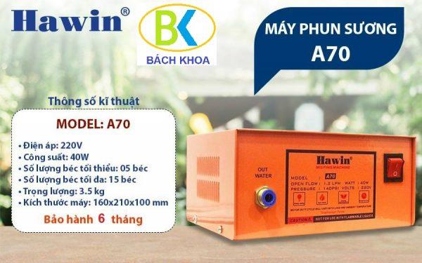 may-phun-suong-hawin-a70-thong-so-bk